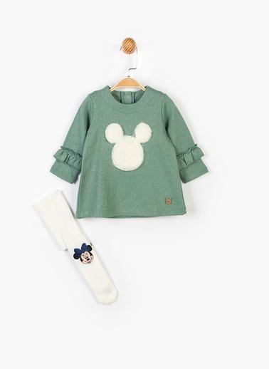 Mickey Mouse 2 li Takım Yeşil
